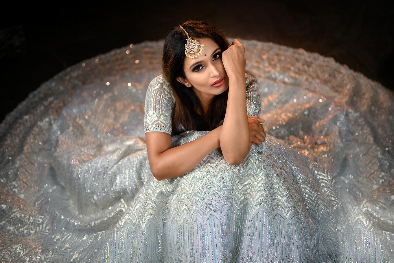 Celebrity Portrait of Kavyashree, Kannada TV Actress of Big Boss fame